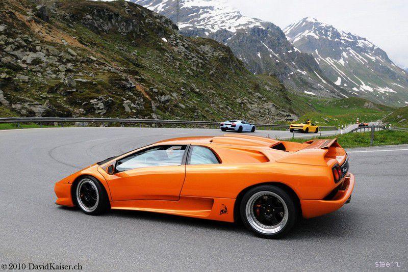 Слет владельцев Lamborghini (фото)