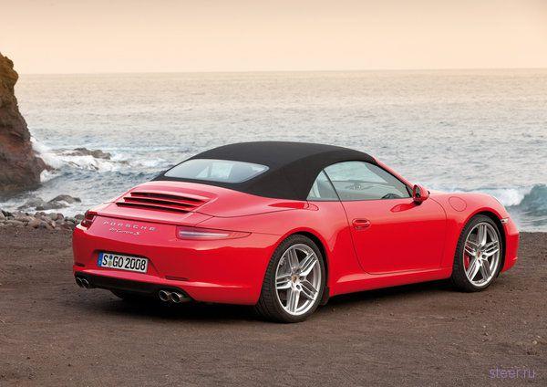 Porsche показал новый кабриолет (фото)
