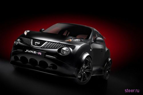 Nissan Juke-R :новые фотографии супер-кроссовера (фото)