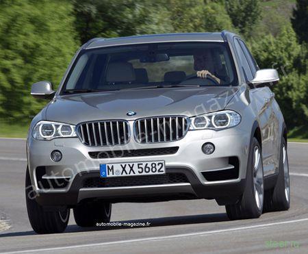 Первые изображения нового BMW X5 (фото)