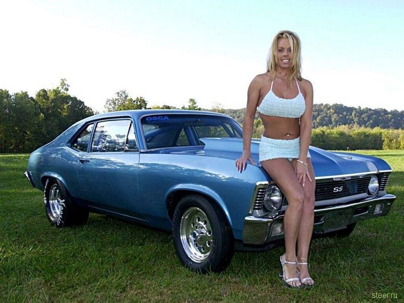женщины и автомобили красивая фотоподборка