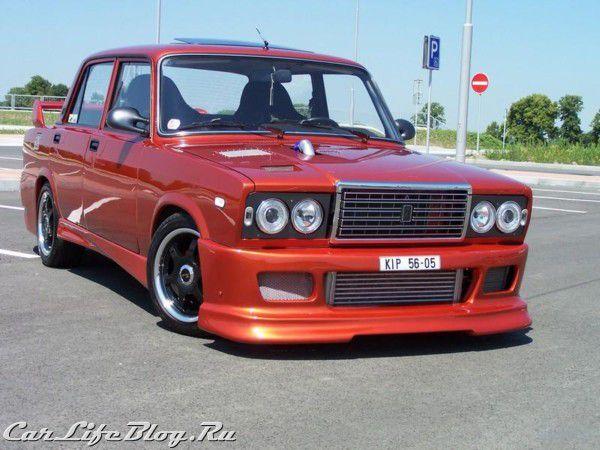 ВАЗ 2107 по-чешски (фото)
