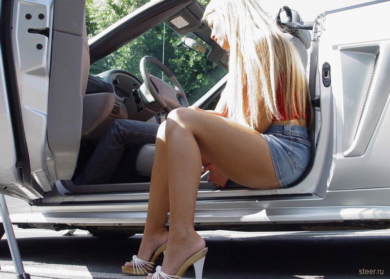 Реальные проститутки порно в машине