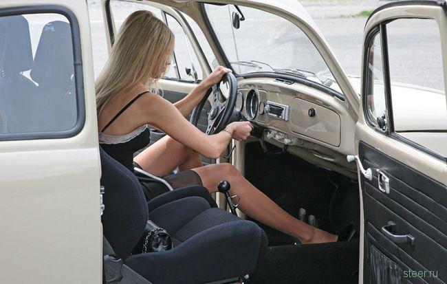 Женщины и транспорт: вид современного фетиша? (фото)