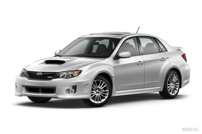 Рестайлинг Subaru Impreza WRX : еще больше агрессии (фото)