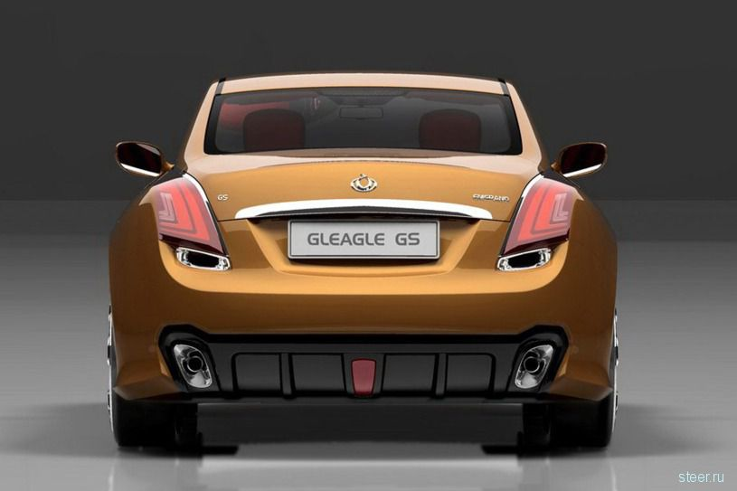 Geely GS – новый китайский спорткар (фото)
