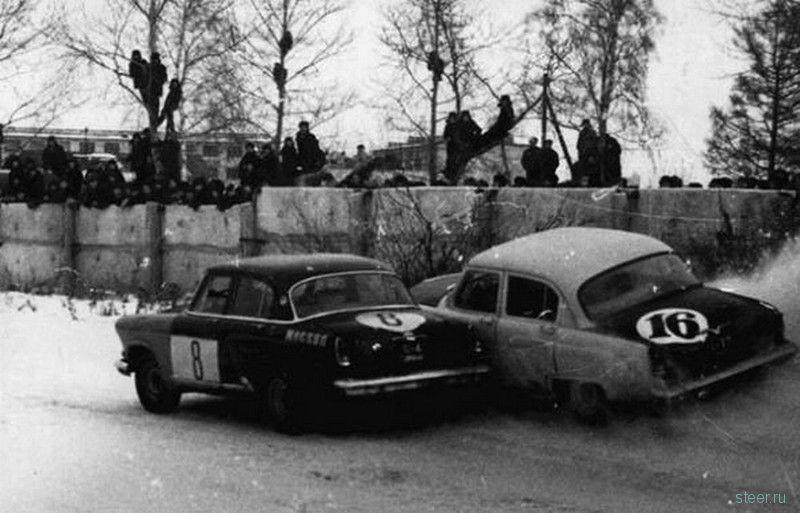 Автогонки в СССР (фото)