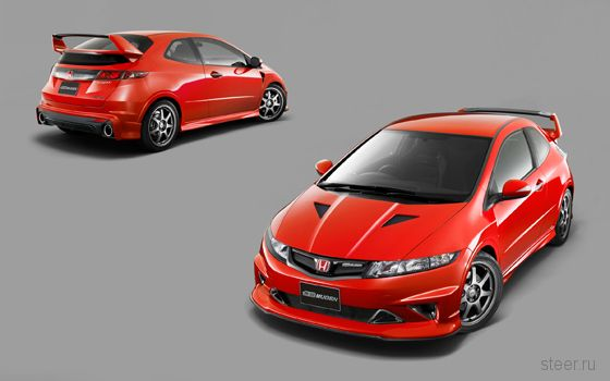 Mugen представил свою версию европейского хэтчбэка Honda Civic Type R (фото, видео)