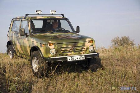 В России начали выпуск внедорожника «Рысь-3» (фото)