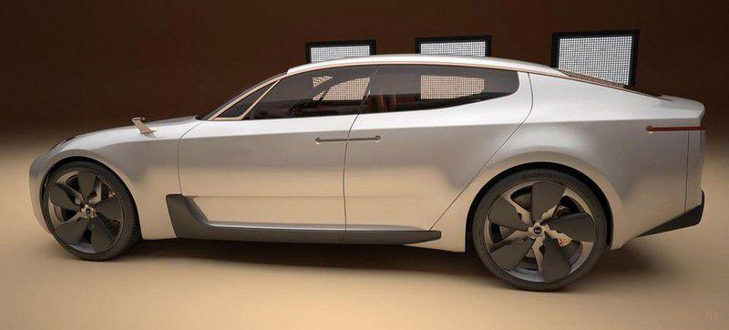 Kia готова выйти на рынок спортивных седанов (фото)