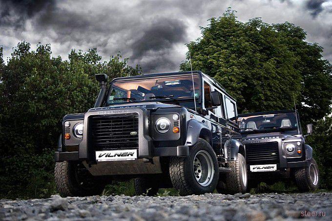 Vilner Land Rover Defender : эксклюзивный тюнинг для русского охотника-олигарха (фото)