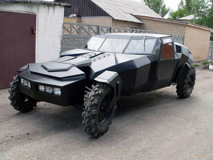 Черный ворон - самодельный казахский автомобиль (фото)