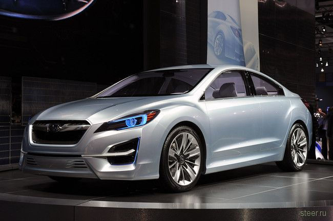 Дизайн Subaru будет кардинально изменен (фото)