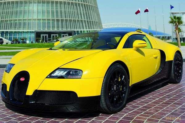В Катар привезли уникальный кабриолет Bugatti (фото)