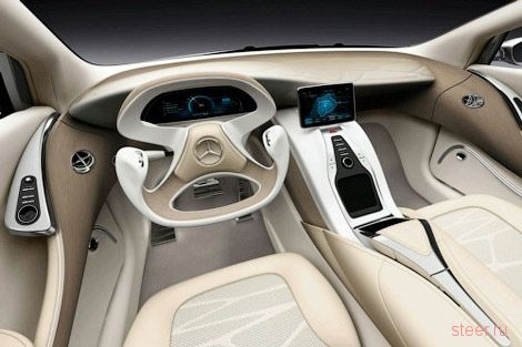 Mercedes-Benz показала прототип нового CLS (F800 Style) (фото)