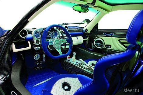 Компания Pagani построила эксклюзивную версию суперкара Zonda Cinque (фото)
