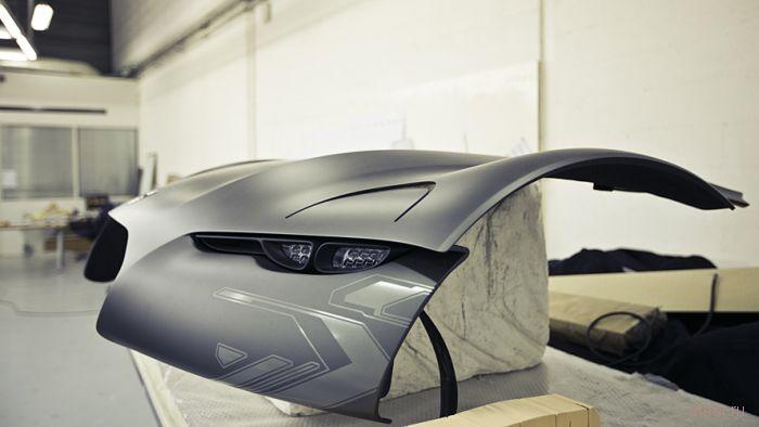 Процесс создания концепта Citroën Survolt Concept (фото)