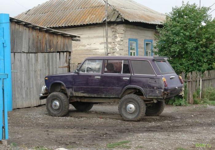 Настоящий русский внедорожник (фото)