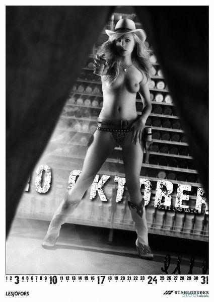 Как нужно рекламировать запчасти: Werkstattkultur kalender 2010 (фото)