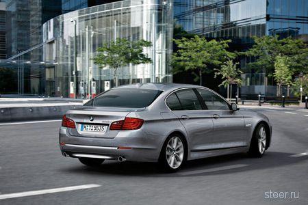 Новая BMW 5-й серии. Официальные фото салона и кузова (фото)