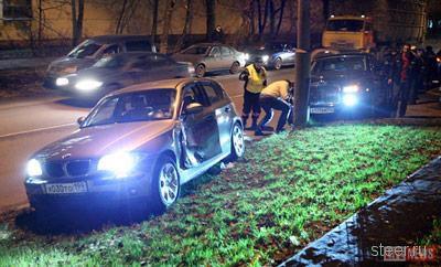 Rolls-Royce Phantom попал в аварию из-за того, что для него не предусмотрена зимняя резина (фото)