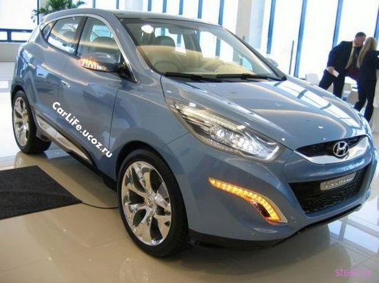 Концепт кроссовера Hyundai HED-6 ix-ONIC (фото)
