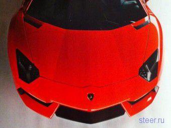 Журналисты рассекретили внешность нового Lamborghini (фото)