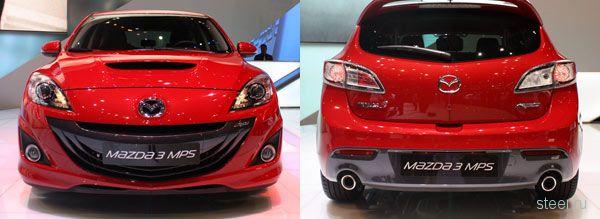 Mazda 3 MPS рассекречена  (фото)