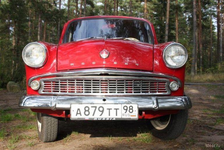Реставрация Москвича-403 (фото)