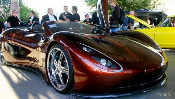 Суперкар Scorpion h2go: красивый, мощный, экономичный, безопасный (фото)