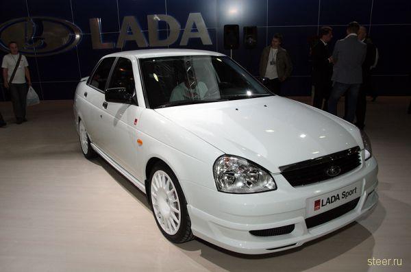 Lada Priora Sport – пацаномобиль от ВАЗ (фото)