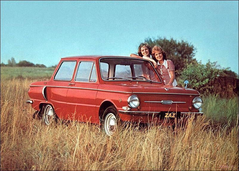 Реклама советского автопрома (фото)
