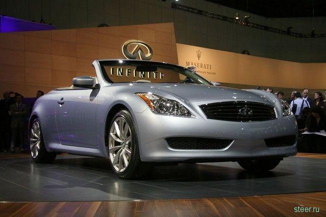 Кабриолет Infiniti G37: авто для богатых стариков