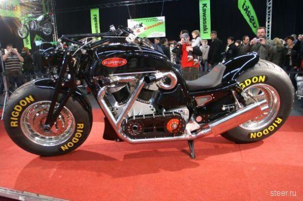 Мотоцикл-гигант Gunbus 410 (фото)