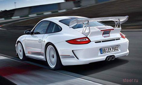 Появились фотографии 500-сильной версии суперкара Porsche 911 GT3 RS (фото)