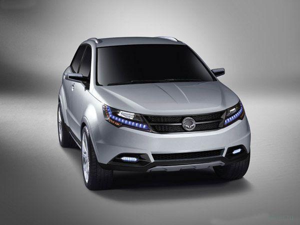 Новый SsangYong 2 16 - Автомобили марки - CARS ru