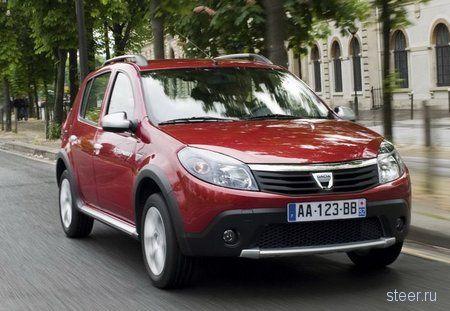 В Барселоне дебютировал компактный кроссовер Dacia Sandero Stepway (фото)