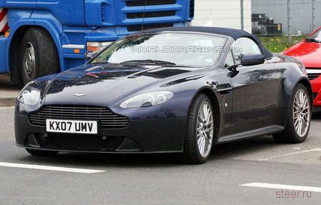 Шпионские фото родстера Aston Martin V12 Vantage (фото)