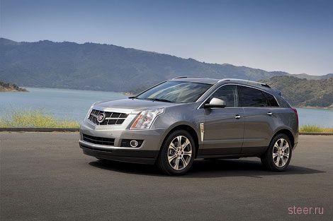 Cadillac рассекретил обновленный кроссовер SRX (фото)