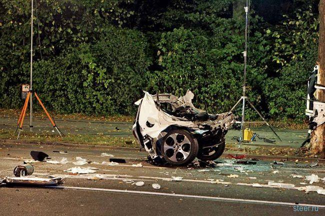 Страшная авария с участием Golf VI (фото и видео)