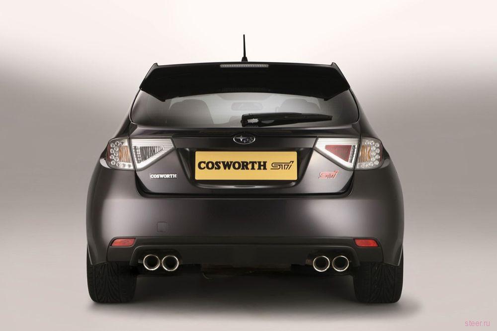 Cosworth и Subaru построили 400-сильную WRX STI (фото)
