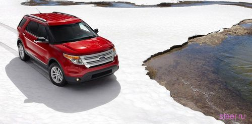 Ford представил внедорожник Explorer нового поколения. Рамы нет, базовая версия с передним приводом (фото)
