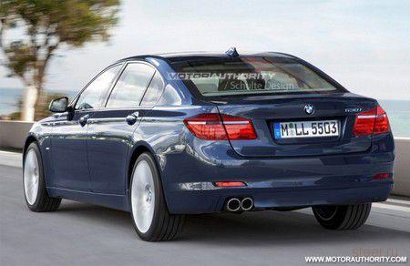 Новый седан BMW 5-серии дебютирует в марте на автосалоне в Женеве (фото)
