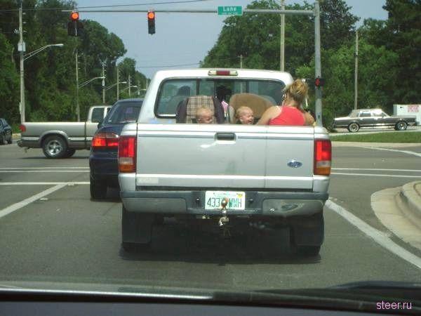 Как правильно разместить детские автокресла? (фото)