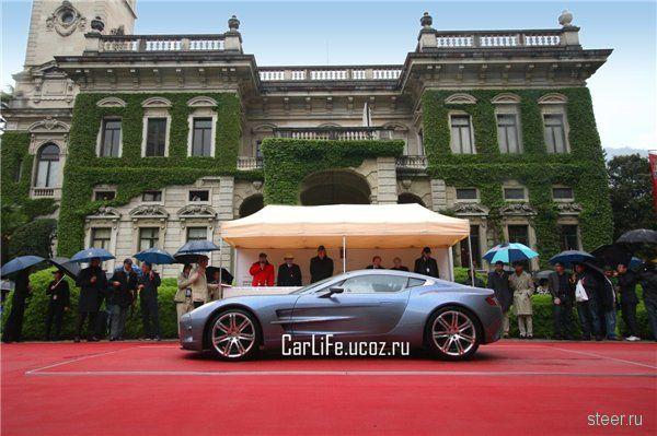 Выставка красоты: Concorso d'Eleganza at Villa d'Este 2009 (фото)