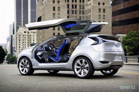 Hyundai продемонстрировала гибридный концепт-кроссовер Nuvis (фото)
