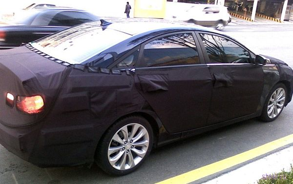 Шпионские фото новой Hyundai Sonata (фото)