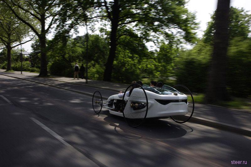 F-CELL Roadster: Из века прошлого в век настоящий (фото)