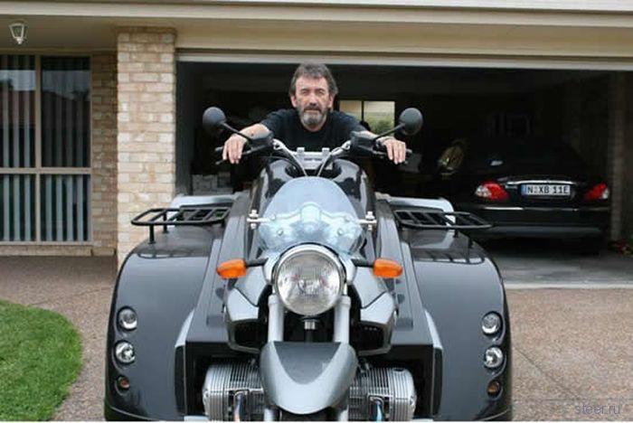 Супер мотоцикл для инвалидов (фото)