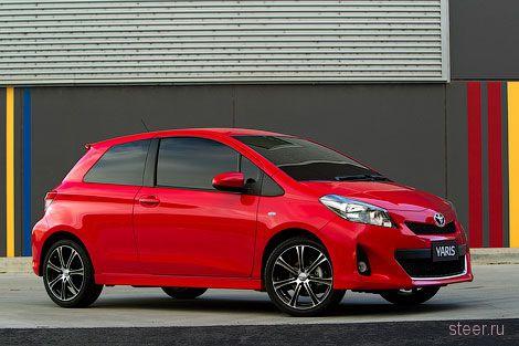Появились фотографии трехдверного Toyota Yaris (фото)